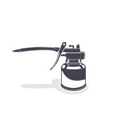 Oiler monochrome style vector