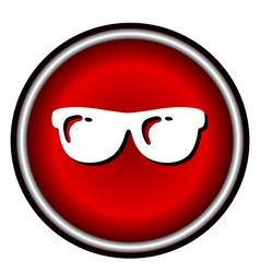 Sunglasses icon vector image