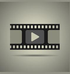 Film strip icon video icon vector