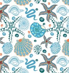 seamless sea paradise vector image
