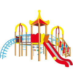 child playground vector image vector image