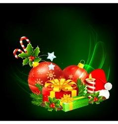 Colorful Christmas Gift vector image vector image