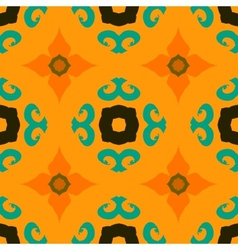 Multicolor ethnic pattern indian motifs vector