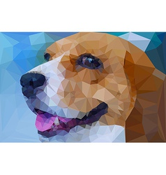 Beagle polygon geometric vector
