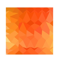 Spanish orange abstract low polygon background vector