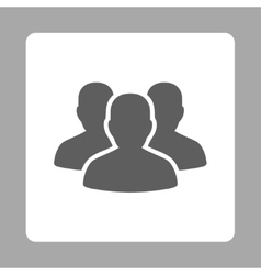 Account group icon vector