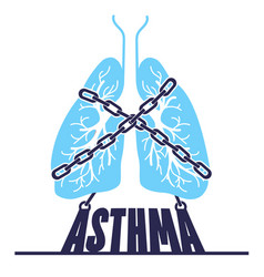 Banner bronchial asthma chain-bound vector