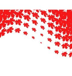fall design vector image vector image