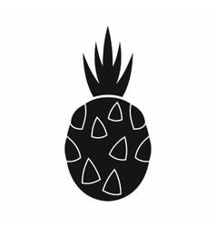 Pitaya dragon fruit icon simple style vector