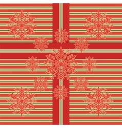 snow flake 5 vector image