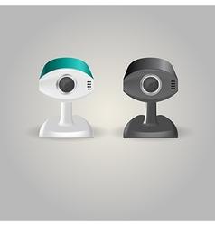 Surveillance cameras vector