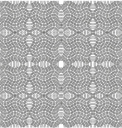 Black and white stripe pattern swatches vector