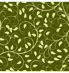 green plants vector image