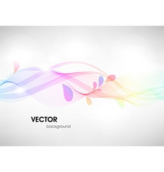 Soft coloured abstract background vector