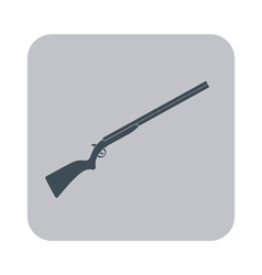 Hunting shot gun icon vector