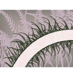 fern arc vector image vector image