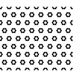 Geometric pattern rippled hexagons vector