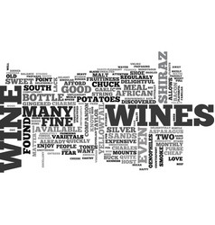 Wine for the rest of us text word cloud concept vector