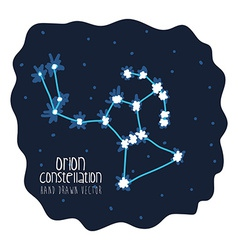 Orion constelation design vector