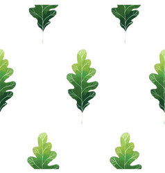 Oak leaf vector