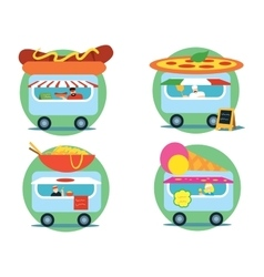 Fast food series vector image vector image