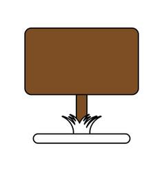 Yard sign vector