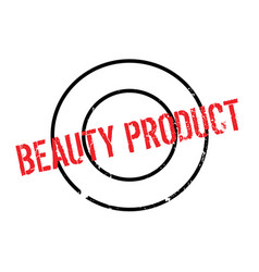 Beauty product rubber stamp vector