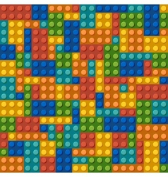 modern plastic constructor background vector image