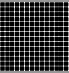 Seamless pattern with black white squares the vector