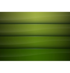 background green stripe vector image