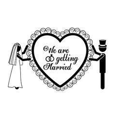 Married design vector