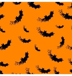 Halloween icons seamless of bat vector