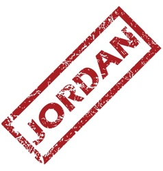 New jordan rubber stamp vector