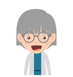 Old woman design vector