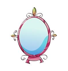 A mirror vector image