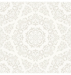 Seamless ornate retro pattern vector image