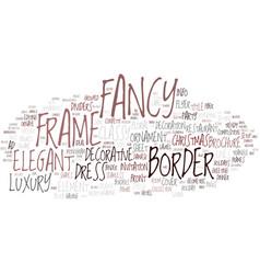 Fancy word cloud concept vector