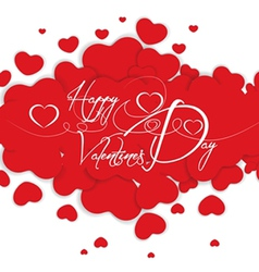 Background valentines vector