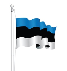 Estonia flag vector