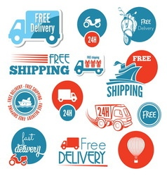 free shipping1 resize vector image vector image