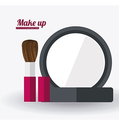 Make up desing ilustration vector