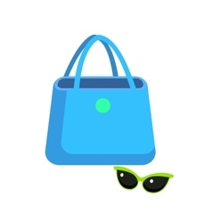 Color sale bag vector