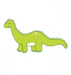 dinosaur brontosaurus vector image