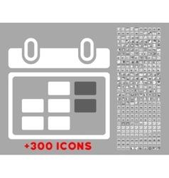 Month syllabus icon vector