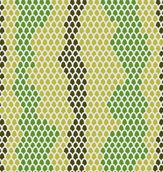 Snake skin seamless pattern background Leather vector image vector image