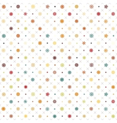 Pattern seamless wrapping wallpaper snowfall vector