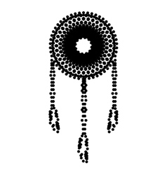 Dream catcher sign vector