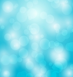 Abstract background with bokeh circles vector image