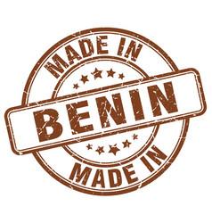 Made in benin vector