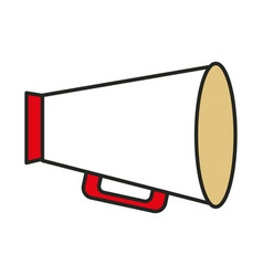 megaphone director isolated icon vector image vector image